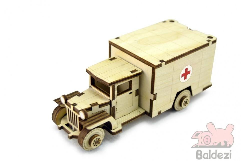 Конструктор-грузовик ЗИС 5М