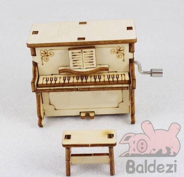 Конструктор-музыкальная шкатулка Piano
