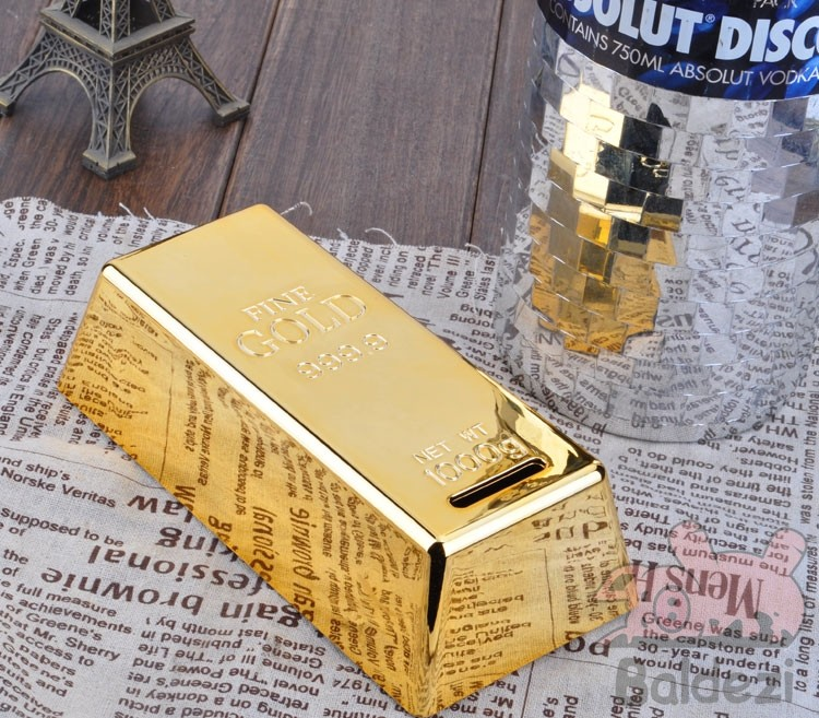 Копилка Gold Brick
